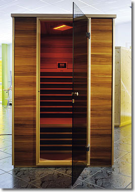 cabine infra rouge sauna infrarouge france suisse. Black Bedroom Furniture Sets. Home Design Ideas